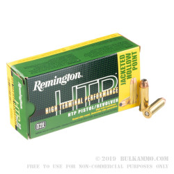 500 Rounds of .45 Long-Colt Ammo by Remington HTP - 230gr JHP