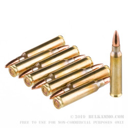 1000 Rounds of .223 Ammo by Wolf Gold - 55gr FMJ