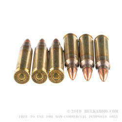 1000 Rounds of .223 Rem Ammo by Hornady Frontier - 55gr FMJ