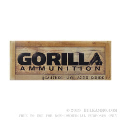 20 Rounds of .308 Win Ammo by Gorilla Ammunition - 175gr Sierra MatchKing OTM