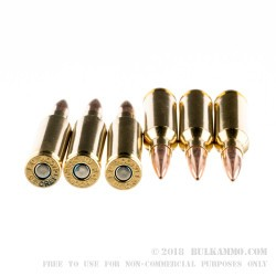 20 Rounds of 6.5 mm Creedmoor Ammo by Federal - 120gr OTM