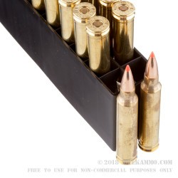 20 Rounds of .300 Win Mag Ammo by Hornady Superformance - 165gr GMX