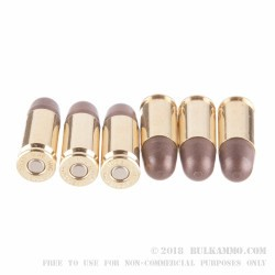 50 Rounds of 9mm Ammo by Polycase - 65gr RNP