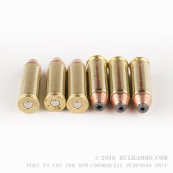 20 Rounds of .45 Long-Colt +P Ammo by Corbon - 265gr JHP
