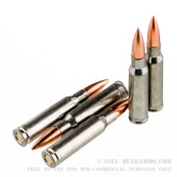 500  Rounds of .308 Win Ammo by Silver Bear - 145gr FMJ