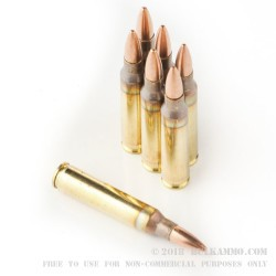 500  Rounds of 5.56x45 Ammo by Independence - 55gr FMJBT