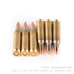 1000 Rounds of .223 Ammo by Wolf - 55gr FMJ