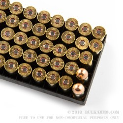50 Rounds of .38 Spl Ammo by PMC - 158gr EMJ