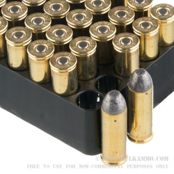 500 Rounds of .45 Long-Colt Ammo by Remington Performance WheelGun - 250gr LRN