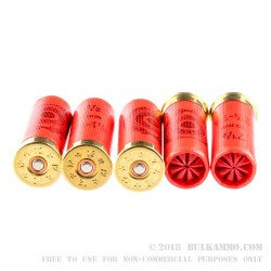 """250 Rounds of 12ga Ammo by Estate Cartridge - 2 3/4"""" 1 1/8 ounce #7 1/2 shot"""