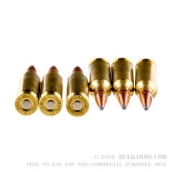 200 Rounds of 6.5 mm Creedmoor Ammo by Hornady - 129gr SPBT
