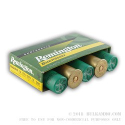 250 Rounds of 12ga Ammo by Remington -  0 Buck