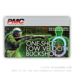250 Rounds of LV LE 12ga Ammo by PMC -  #4 Buck