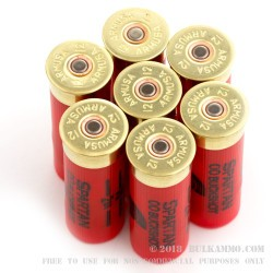 250 Rounds of 12ga Ammo by Spartan Ammo -  00 Buck - 9 Pellets