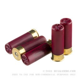 5 Rounds of 12ga Ammo by Federal with FliteControl Wad-  00 Buck