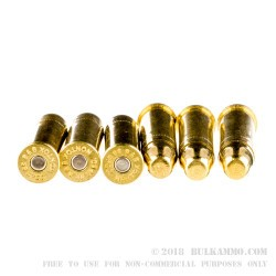 50 Rounds of .38 Spl Ammo by Sellier & Bellot - 158gr TMJ