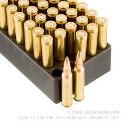 500rds - 223 Black Hills 77gr. Sierra MatchKing Hollow Point Ammo