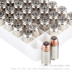 1000 Rounds of .40 S&W Ammo by Speer - 180gr JHP