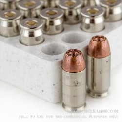 20 Rounds of .45 ACP Ammo by Winchester W Train & Defend - 230gr JHP