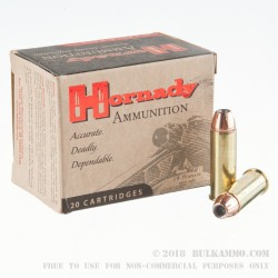 20 Rounds of .44 Mag Ammo by Hornady - 200gr JHP
