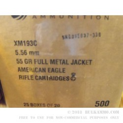 Federal 5.56x45 XM193 Ammo For Sale