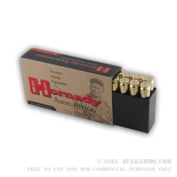 20 Rounds of .243 Win Ammo by Hornady - 75gr HP