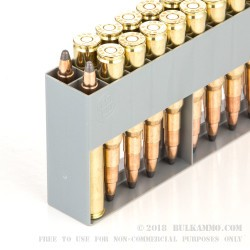 20 Rounds of 7x57mm Rimmed Ammo by Sellier & Bellot - 173gr SP
