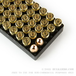 50 Rounds of .380 ACP Ammo by GECO - 95gr FMJ