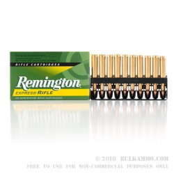 200 Rounds of .270 Win Ammo by Remington - 100 gr PSP