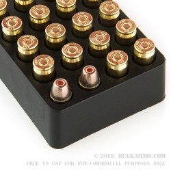 20 Rounds of .380 ACP Ammo by Team Never Quit - 75gr Frangible HP