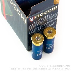 "250 Rounds of 12ga 2-3/4"" Ammo by Fiocchi - 1 ounce #8 Shot"