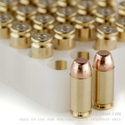 50 Rounds of .40 S&W Ammo by Federal - 180gr FMJ