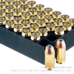 50 Rounds of .45 ACP Ammo by Fiocchi - 230gr JHP