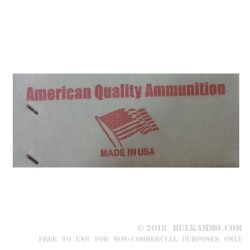 250 Rounds of .300 AAC Blackout Ammo by American Quality Ammunition - 147gr FMJ
