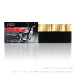 20 Rounds of .300 Win Mag Ammo by PMC - 150gr SPBT Interlock
