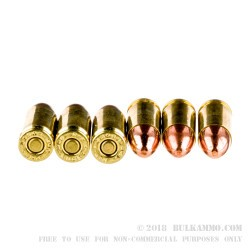 50 Rounds of 9mm Ammo by Remington MIL / LE Contract Overrun - 115gr FMJ
