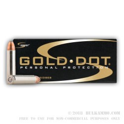 20 Rounds of .30 Carbine Ammo by Speer Gold Dot - 110gr GDSP