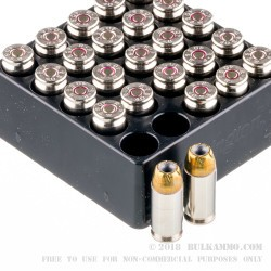 25 Rounds of .40 S&W Ammo by Remington - 165gr JHP