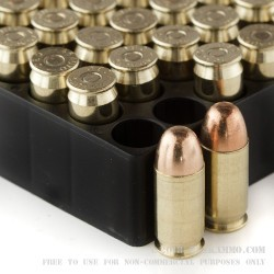 50 Rounds of .45 ACP Ammo by Magtech - 230gr FEB