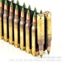 2000 Rounds of .223 Ammo by Lake City - 62gr FMJ