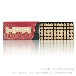 50 Rounds of .357 Mag Ammo by HPR - 158gr JHP