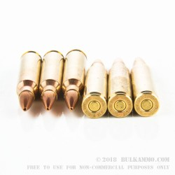 800 Rounds of .223 Ammo by PMC Sierra X-TAC Match - 77gr OTM