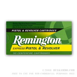 50 Rounds of .380 ACP Ammo by Remington - 88gr JHP