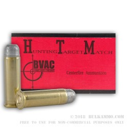 1000 Rounds of .38 Spl Ammo by BVAC Remanufactured - 158gr LRN