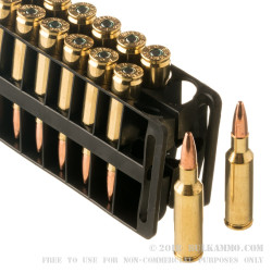 200 Rounds of .224 Valkyrie Ammo by Federal American Eagle - 75gr TMJ