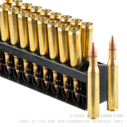 20 Rounds of .270 Win Ammo by Remington Core-Lokt - 100 gr PSP