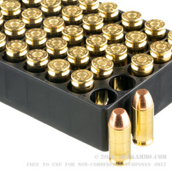 300 Rounds of .40 S&W Ammo by Magtech - 180gr FMJFN Shootin' Size