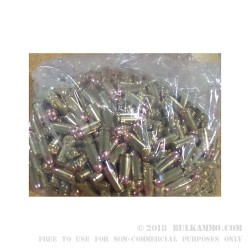 500 Rounds of .40 S&W Ammo by American Quality Ammunition - Remanufactured - 180gr JHP
