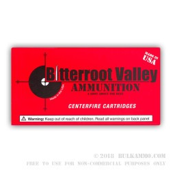 50 Rounds of .40 S&W Ammo by BVAC - 180gr CPRN
