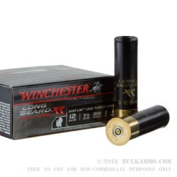 10 Rounds of 12ga Ammo by Winchester - 2 ounce #4 shot